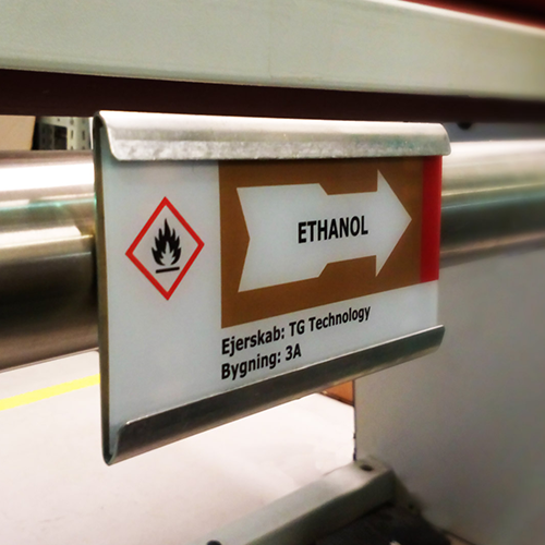 rørmærkning pipemarking rörmärkning rørskilte vekaplan